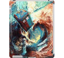 Time travel Phone box at Starry Dark Vortex iPad Case/Skin