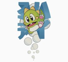 "Bubble Bobble - Japanese ""HIGHSCORE"" Classic Arcade by TATSUHIRO"