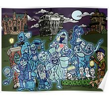 Grim Grinning Ghosts Poster