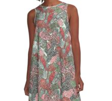 Birds in the tree A-Line Dress