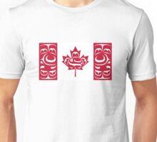 Haida Canada Flag Unisex T-Shirt