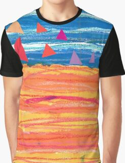 Sailing on a Sizzling Summer's Day Graphic T-Shirt