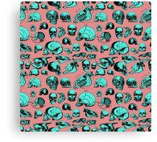 Skull Overload Pattern Canvas Print