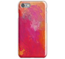 heart on fire iPhone Case/Skin