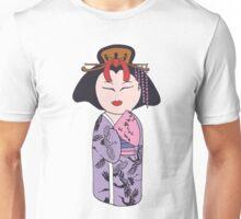 Kokeshi Geisha  Unisex T-Shirt