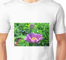 Blooming Purple Flowers Unisex T-Shirt