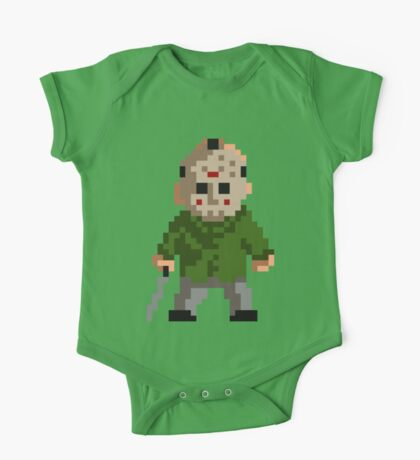 Pixel Jason One Piece - Short Sleeve