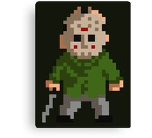Pixel Jason Canvas Print