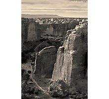 Canyon de Chelly I Toned Photographic Print