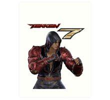 Tekken 7 - Jin Kazama Art Print