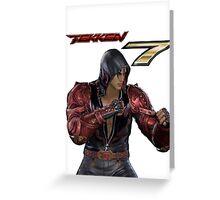 Tekken 7 - Jin Kazama Greeting Card