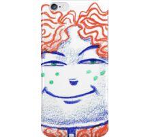 RedHead Girl iPhone Case/Skin