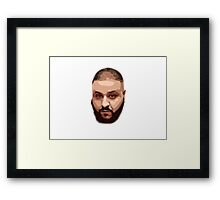 They don't your face printed on objects Framed Print