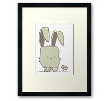 Any minute now Framed Print