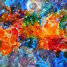 Fire In Have-Colorful Abstract Art by artonwear