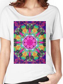 Mandala 160702-01 Women's Relaxed Fit T-Shirt