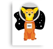Orbit The Astronaut Canvas Print