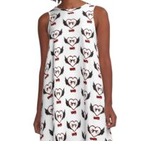 Tattoo Love Design A-Line Dress