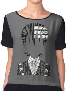 Death the kid Chiffon Top