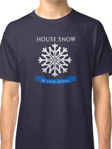 House Snow - We Know Nothing Classic T-Shirt