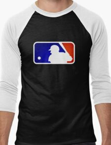 mlb logo Men's Baseball ¾ T-Shirt