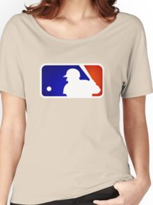mlb logo Women's Relaxed Fit T-Shirt