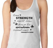 Strength Must Bow to Wisdom - Annabeth Chase Women's Tank Top