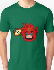 satan mario flower power Unisex T-Shirt
