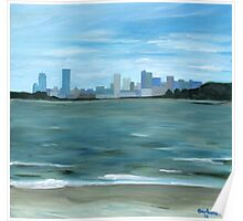 Boston from Georges Island Poster