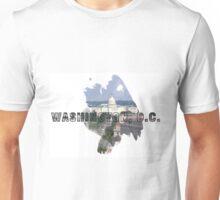 Washington, D.C. Grunge Logo Unisex T-Shirt