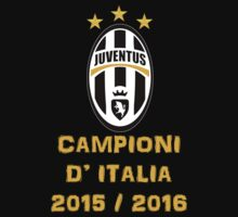 Juventus Campione d'Italia 2015 2016 One Piece - Short Sleeve