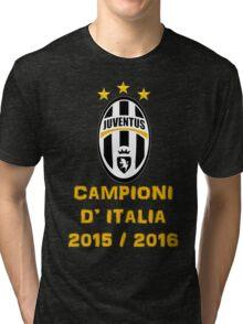 Juventus Campione d'Italia 2015 2016 Tri-blend T-Shirt
