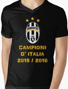 Juventus Campione d'Italia 2015 2016 Mens V-Neck T-Shirt