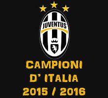 Juventus Campione d'Italia 2015 2016 Unisex T-Shirt