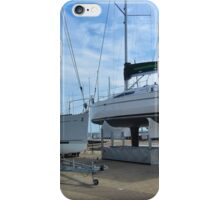 Yachts out of the water..#1 iPhone Case/Skin
