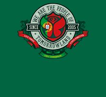 People of Tomorrowland Vintage Flags logo - Portugal - Portuguese - português Unisex T-Shirt