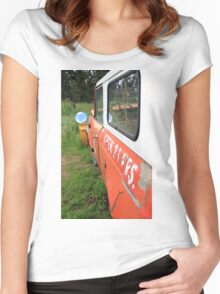 Rustic Wheels Women's Fitted Scoop T-Shirt