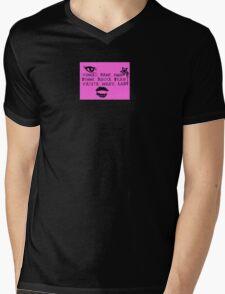 Woman Mens V-Neck T-Shirt