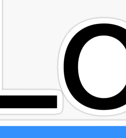 Lodash Logo Sticker