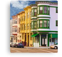 San Francisco Architecture Canvas Print