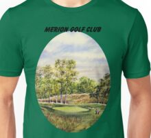 Merion Golf Course With Banner Unisex T-Shirt