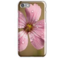 pink and wet iPhone Case/Skin