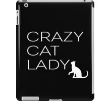 CRAZY CAT LADY iPad Case/Skin