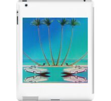 Hologram Plaza iPad Case/Skin