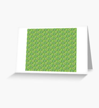 Turtle Scale Greeting Card