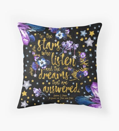 ACOMAF - To the Stars Throw Pillow