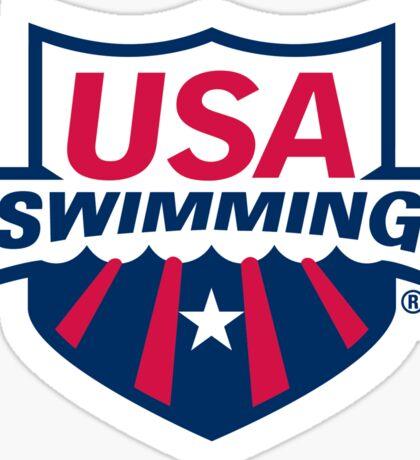 USA SWIMMING STICKER Sticker