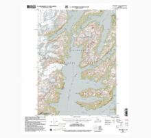 USGS TOPO Map Alaska AK Seward A-4 358871 2000 63360 One Piece - Long Sleeve