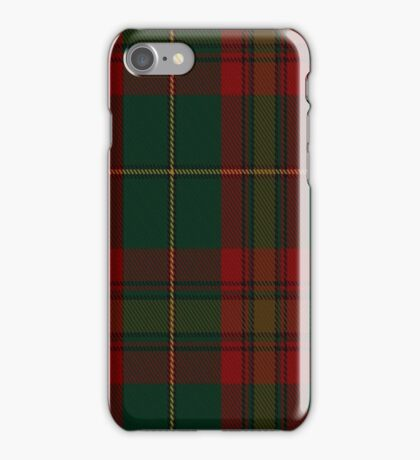 01433 Cozumel Fashion Tartan  iPhone Case/Skin