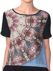 Spring blossoms, Flower Mandala Chiffon Top